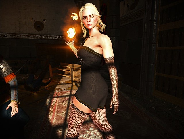 The Witcher 3 - Ciri Lingerie