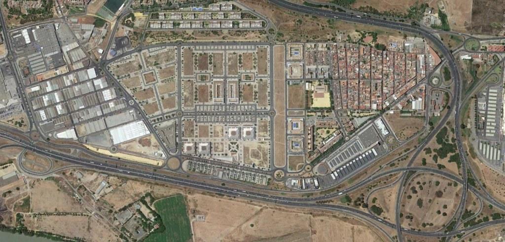 tomares, sevilla, lo mismo es un camposanto, después, urbanismo, planeamiento, urbano, desastre, urbanístico, construcción, rotondas, carretera