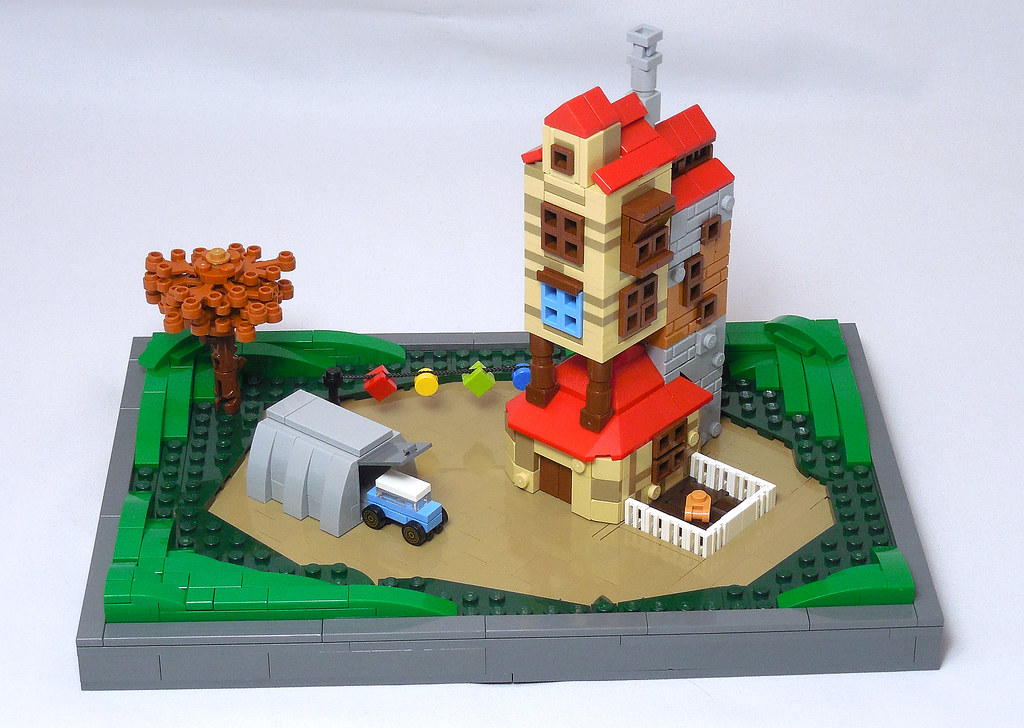 LEGO® MOC by Vitreolum: The Burrow