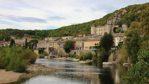 Gorges de l'Ardèche. Vogüé.