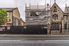 THE MOY PUB IS CURRENTLY BEING DEMOLISHED [DORSET STREET]-143424