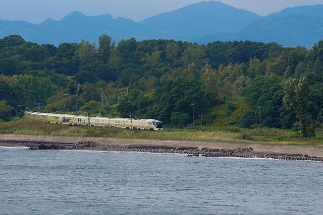 四季島をエントモ岬から望む