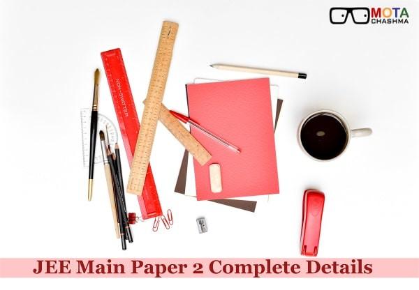 JEE Main Paper 2