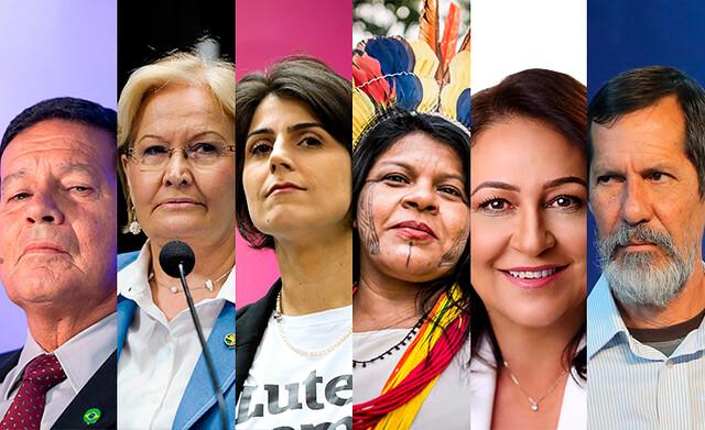 Candidatos a vice-presidente ganham destaque nas eleições de 2018 - Créditos: Wilcker Morais