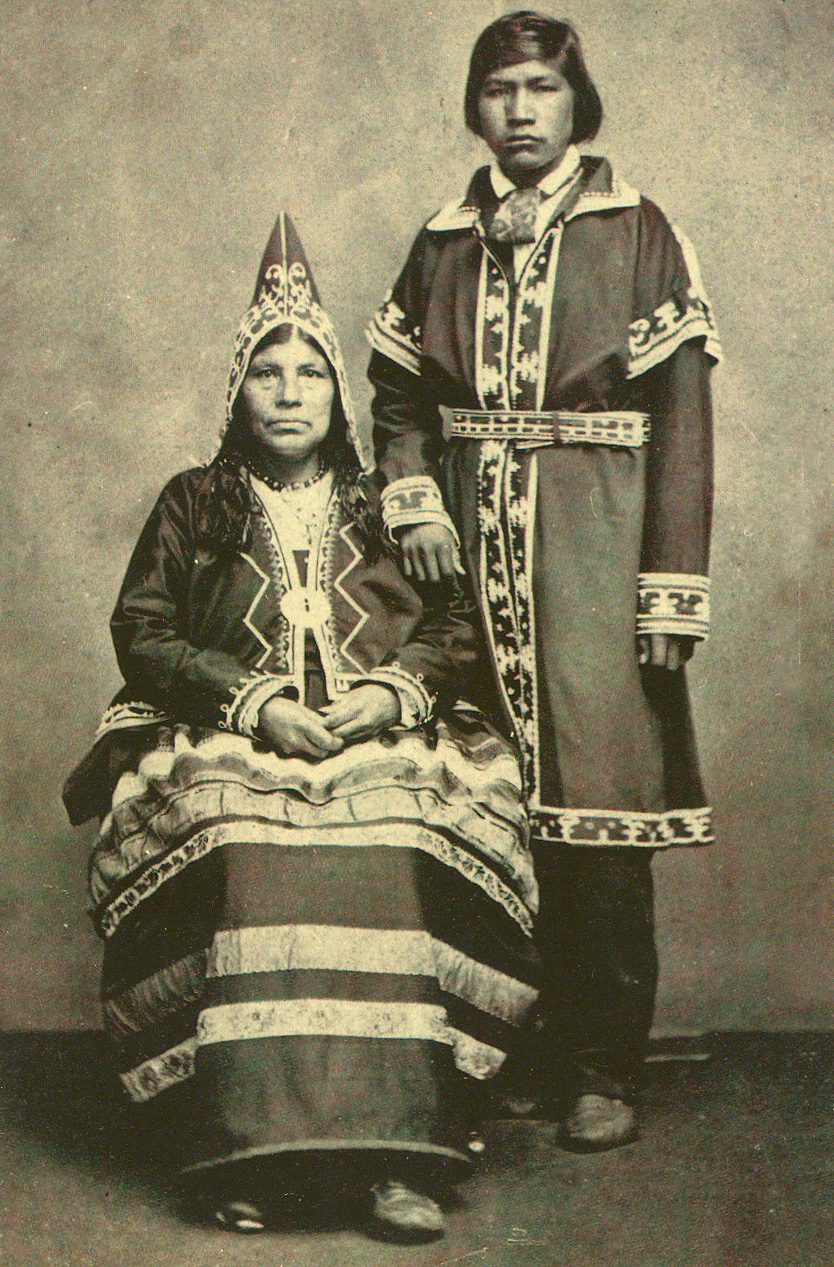 Mi'kmaq people (1865). Photo from the collection of National Anthropological Archives, Smithsonian Institution, Washington D.C