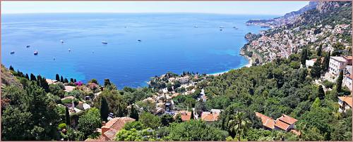 claudelina france alpesmaritimes provencealpescôtedazur roquebrunecapmartin landscape sea méditerranée