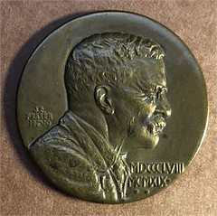 1920 Theodore Roosevelt Founders Medal obverse