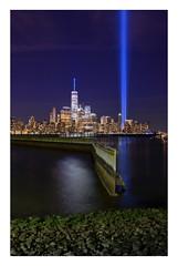 September 11 9/11 Memorial Light