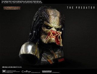 Don't Get Bitten by This Fugitive Predator 1:1 Bust from CoolProps!