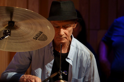 Johnny Vidacovich at the George and Joyce Wein New Orleans Jazz & Heritage Center on September 15, 2018. Photo by Keith Hill.