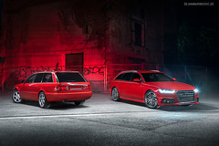 Audi S4 Avant Generations - Shot 2