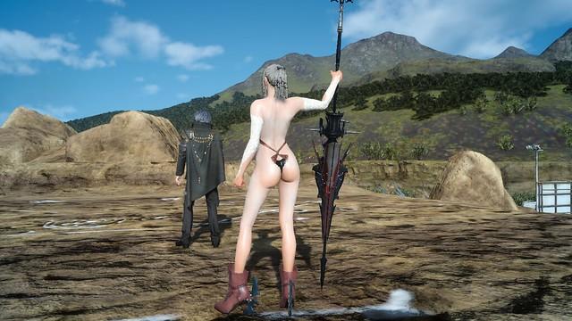 Final Fantasy XV - Aranea Shiva Style