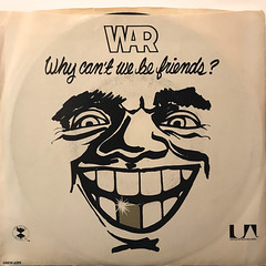 WAR:WHY CAN'T WE BE FRIENDS?(JACKET A)