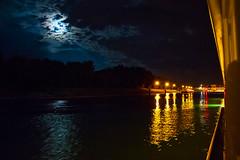Night Scene Near Erstein, Bas-Rhin, France - Photo of Daubensand