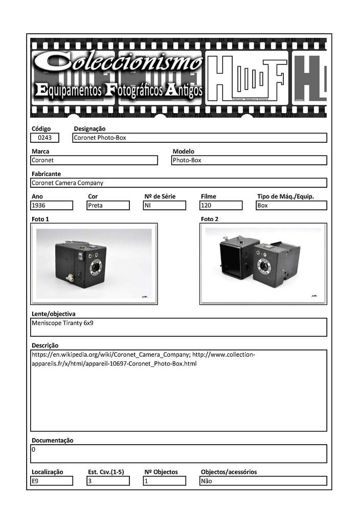 Inventariação da colecção_0243 Coronet Photo-Box