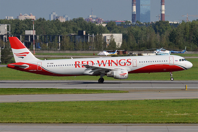 Red Wings, VP-BRW, Airbus A321-211
