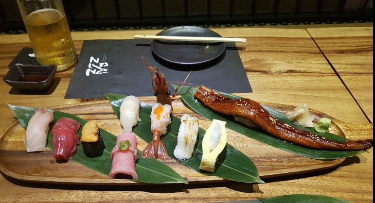 Ronin Japanese sushi restaurant Pattaya