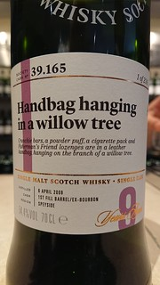 SMWS 39.165 - Handbag hanging in a willow tree