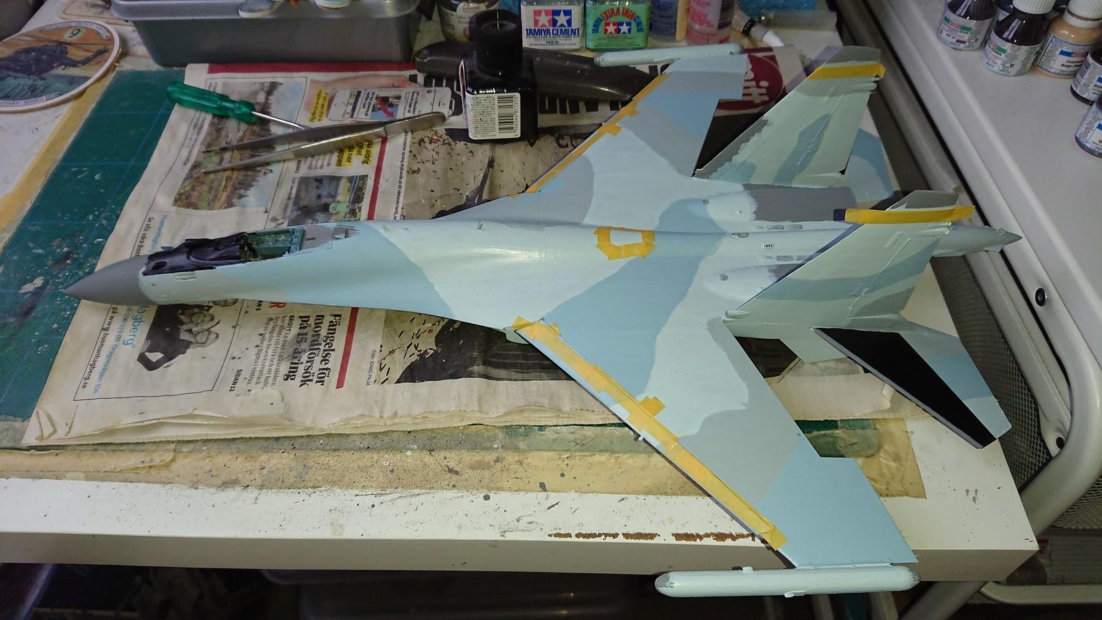красный 06 in Syria - Su-35S GWH 1/48 - Sida 10 43616562655_ba0b88769d_h