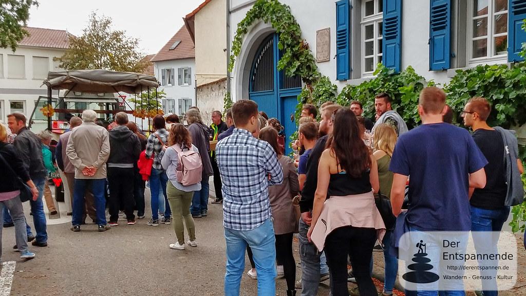 Weinprobe in den Weinbergen: Abfahrt mit dem Winzerexpress