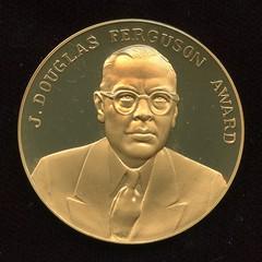 1991 Ferguson medal reverse