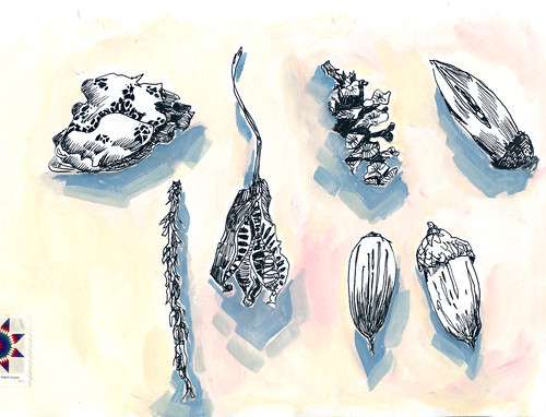 Sketchbook #114 - Treasures