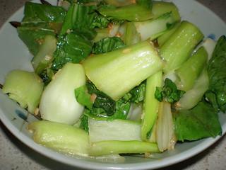 Easy Stir-Fried Leafy Greens