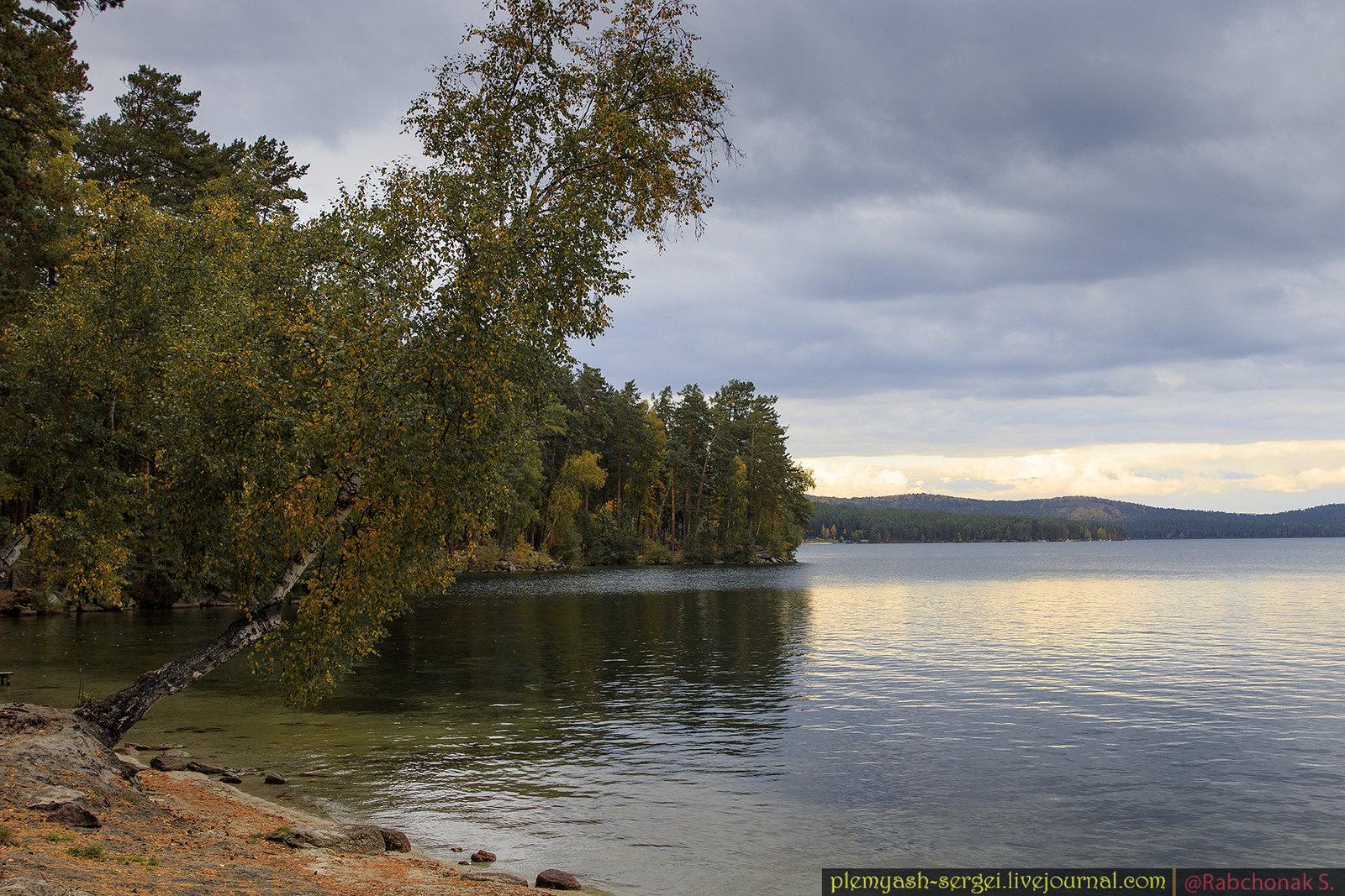 Turgoyak lake