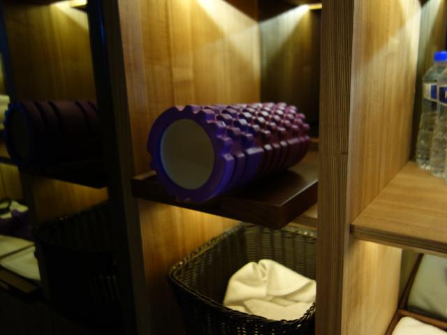 有滾筒可以放鬆一下@高雄H2O水京棧國際酒店