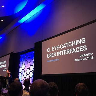 GopherCon 2018 C L Eye Catching User Interfaces