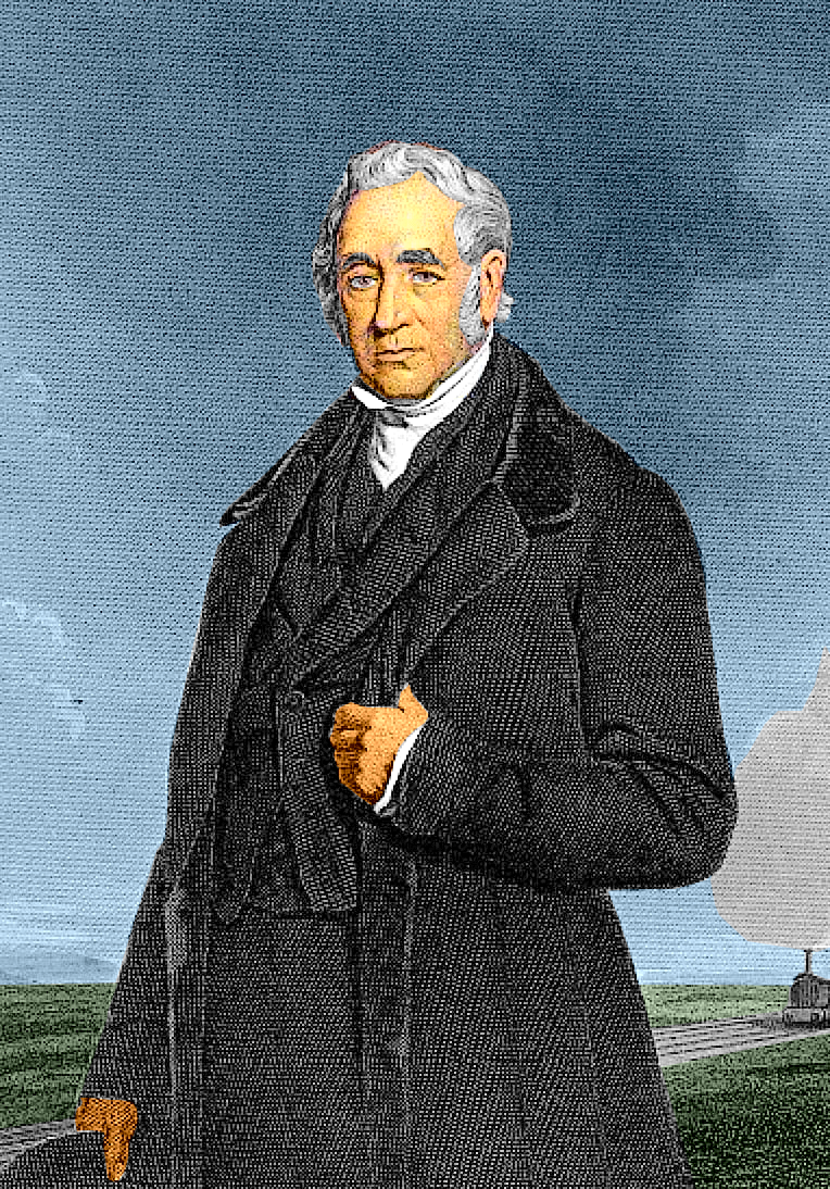 George Stephenson, engineer of the Liverpool and Manchester Railway