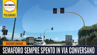 semaforo via conversano Polignano