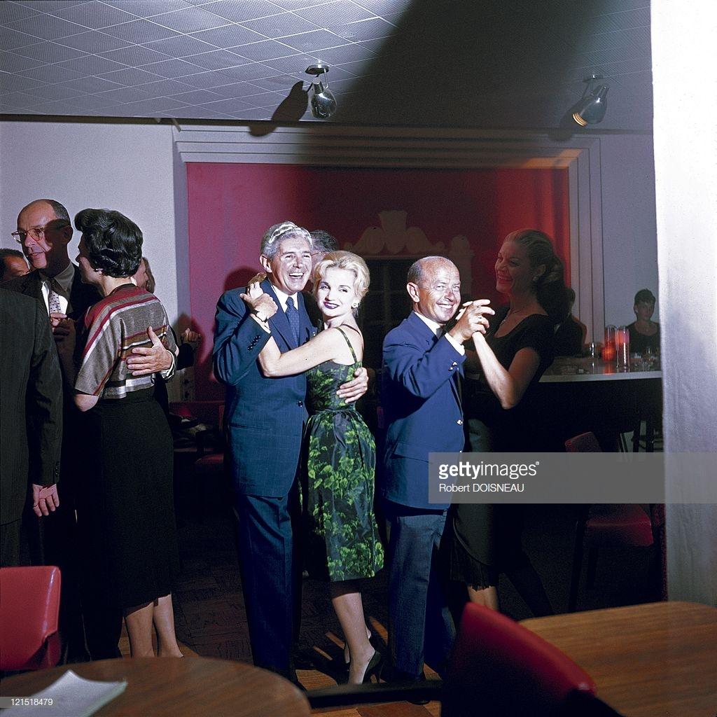 1960. Палм-Спрингс. Танцующие пары