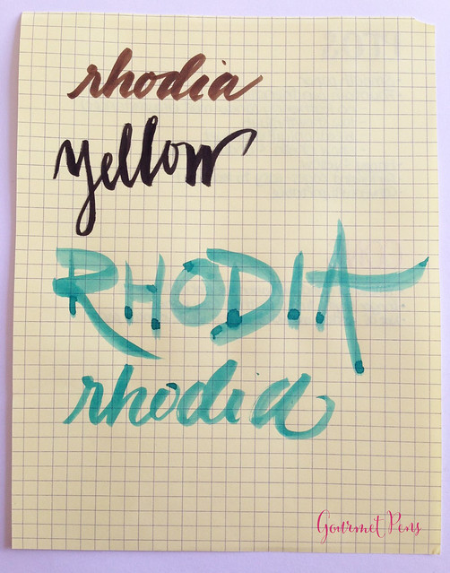 Rhodia No. 16 Yellow Notepad @exaclair @exaclairlimited 3