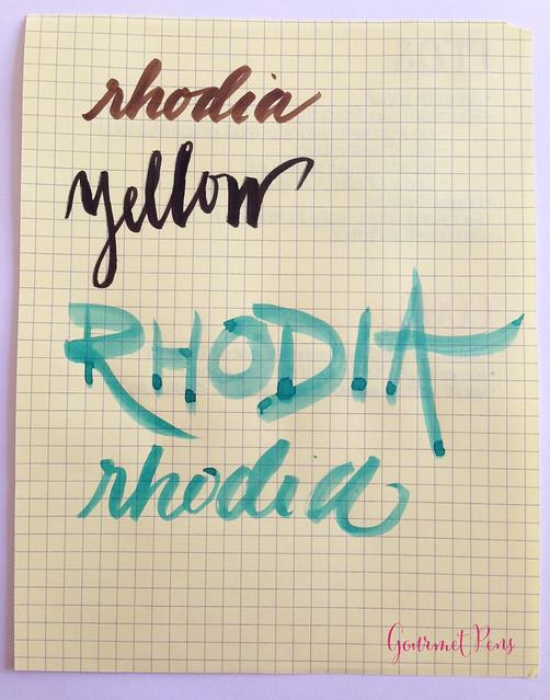 Rhodia No. 16 Yellow Notepad @exaclair @exaclairlimited 3