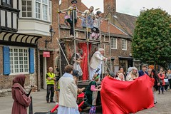 YMPST waggon play performance, College Green, 16 September 2018 - 09