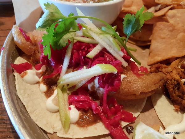 In Cod We Trust taco