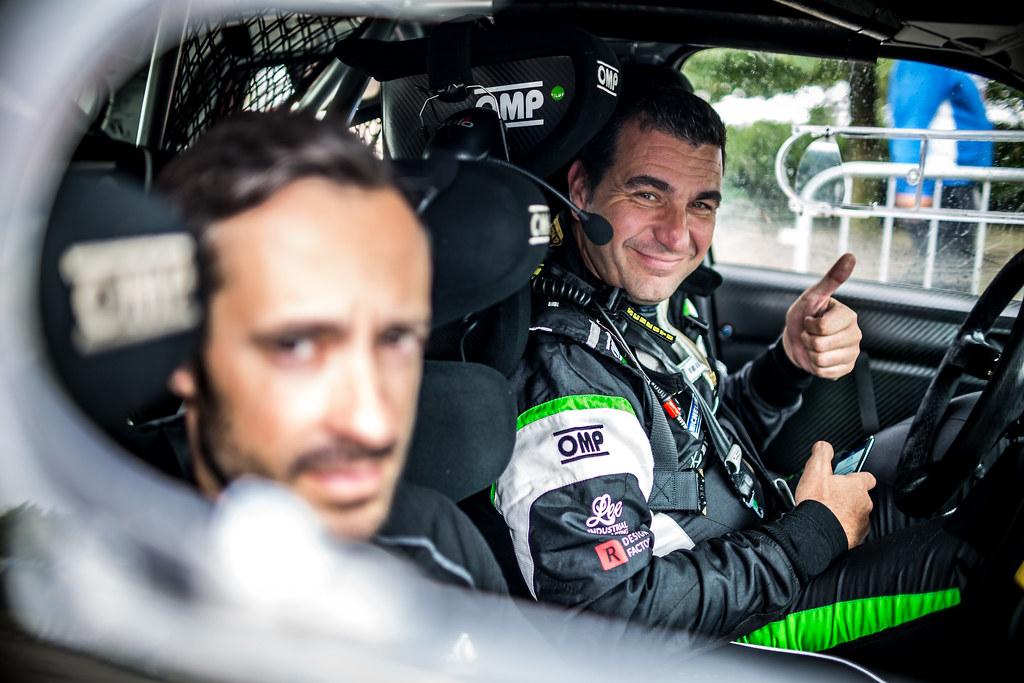 Monteiro Aloisio, PRT, Skoda Fabia R5, Portrait during the 2018 European Rally Championship ERC Barum rally,  from August 24 to 26, at Zlin, Czech Republic - Photo Thomas Fenetre / DPPI