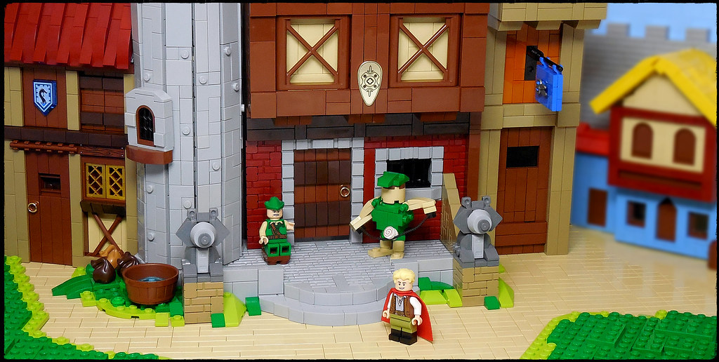 LEGO® MOC by Vitreolum: Quest for Glory – Spielburg 1