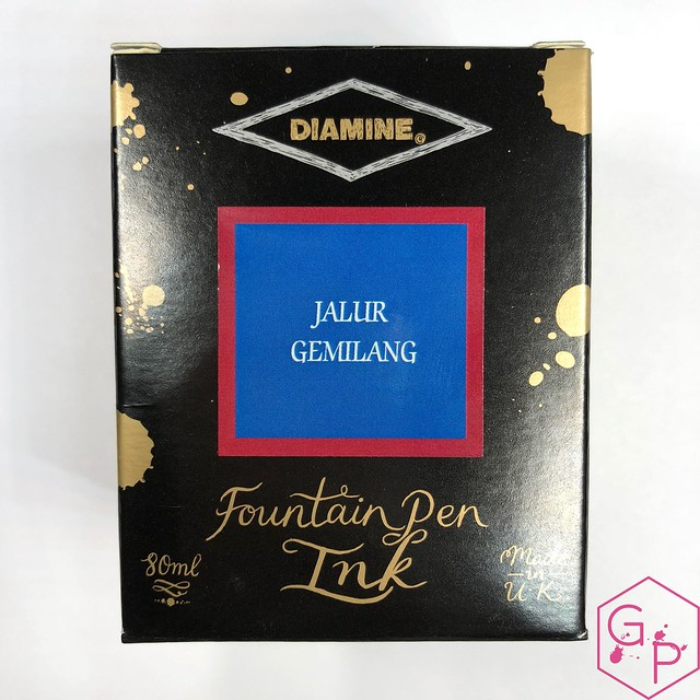 Pen Gallery Diamine Jalur Gemilang Ink Review 2