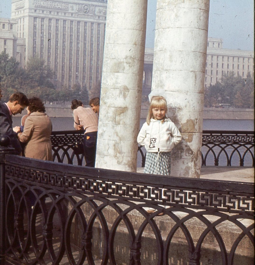 1983. В беседке на Пушкинской набережной в ЦПКиО