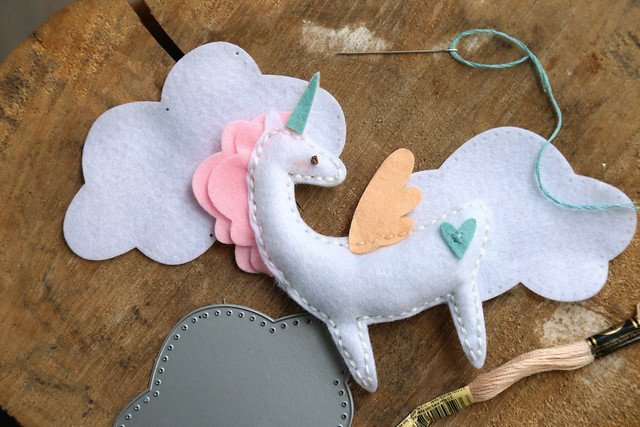 Stitched unicorn (Neat and Tangled release week)