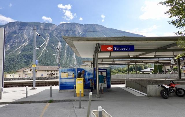 Salgesch station