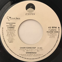 SHINEHEAD:CHAIN GANG-RAP(LABEL SIDE-B)