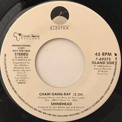 SHINEHEAD:CHAIN GANG-RAP(LABEL SIDE-B)