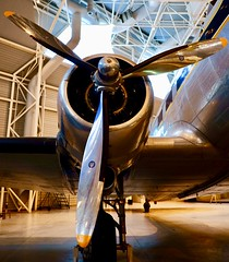 """DC-3 """"Twin Wasp"""" power plant"""