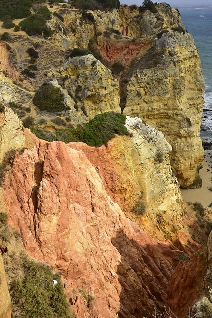 Küste bei Ponta da Piedade; Lagos, Algarve (142)
