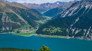 Graun am Reschensee, Langtauferertal