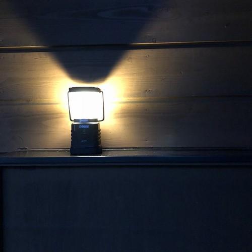 ランタンの灯り