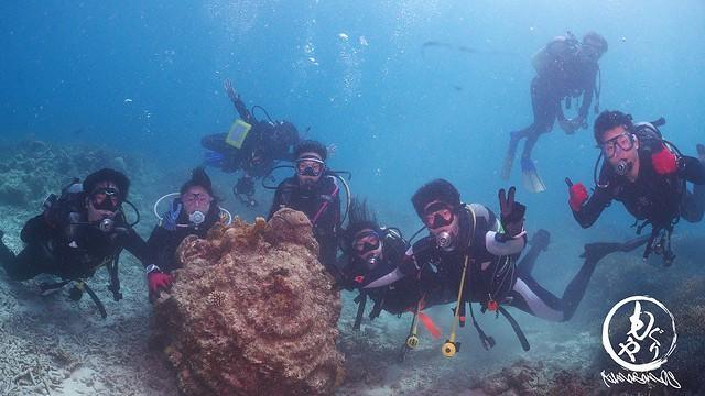 石西礁湖の海をたっぷり楽しめましたね♪